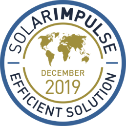 Zaphiro Solar Impulse Efficient Solution Label