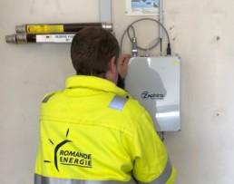 Romande Energie Operator SynchroSense Zaphiro Technologies Smart Grid