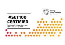 SET100 logo, Zaphiro Technologies